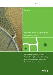 Synthesis and Overview Studies - vdf Hochschulverlag AG an der ...