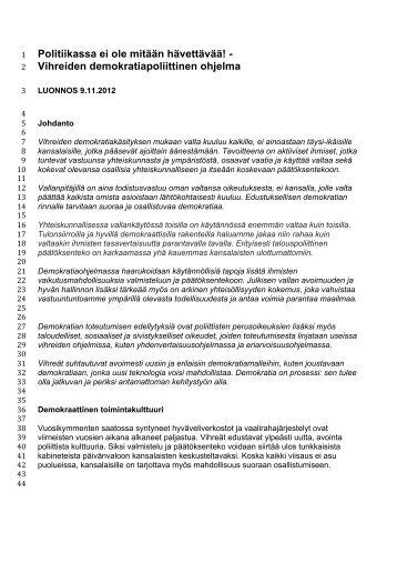 LIITE1_Vihreiden-demokratiapoliittinen-ohjelma-luonnos-9-11-2012