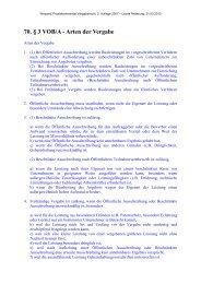 70. § 3 VOB/A - Arten der Vergabe - Oeffentliche Auftraege