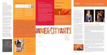 Issue 1, Fall 2008 - Inner-City Arts