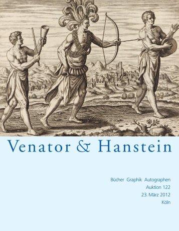 Katalog 122 - Venator & Hanstein