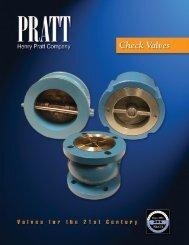 COMPACT WAFERdSILENT CHECK VALVE - Henry Pratt Company