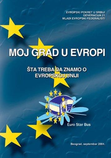 Brosura lat.qxd - Evropski pokret u Srbiji
