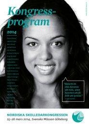 Ladda ner Kongressprogrammet 2014 som pdf - Svenska Mässan