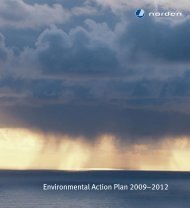 Nordic Environmental Action Plan 2009-2012