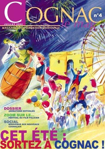 Cognac Mag juillet 2002 - Ville de Cognac