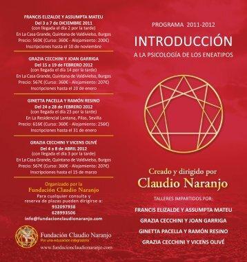 INTRODUCCIÓN - Claudio Naranjo