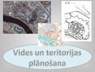 vides un teritorijas plānošana