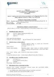 K č. j.: 1053/2012 - Veřejné zakázky - Cesnet