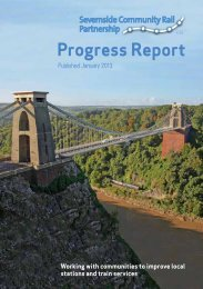 Severnside CRP - Association of Community Rail Partnerships
