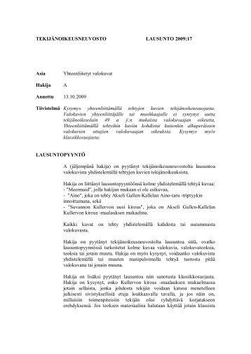 Yhteenliitetyt valokuvat - Opetusministeriö