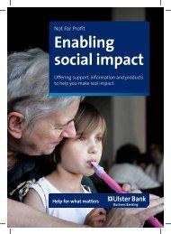 Enabling social impact - Ulster Bank