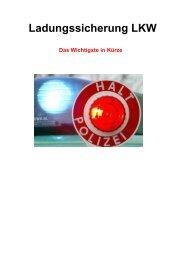 Ladungssicherung LKW - Verkehrswacht Vechta