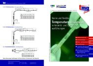Flyer Temperaturmeßlanzen - Temperaturmeßtechnik Geraberg GmbH