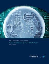 BSA gloBAl Survey of pc uSer AttitudeS - BSA Global Software ...