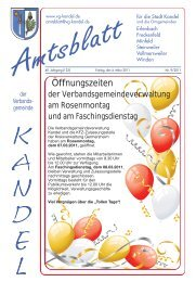 """Dienstag, 08. MÃ""""RZ 2011 in Kandel Eine Veranstaltung der ..."""