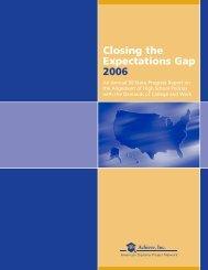 Closing the Expectations Gap (2006) - Data Center