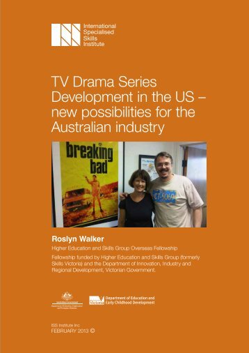TV Drama Series Development in the US - International Specialised ...