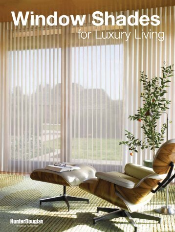 For iPad/iPhone user please download pdf. - Hunter Douglas Asia