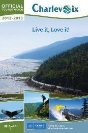 download the tourist guide 2012-2013 - Tourisme Charlevoix