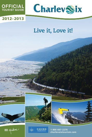 download the tourist guide 2012-2013 - Tourisme Charlevoix