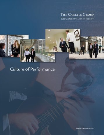2010 Annual Report - The Carlyle Group