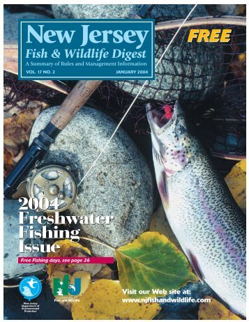 Fish & Wildlife Digest - State of New Jersey