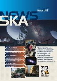 Number 19 - March 2013 - SKA