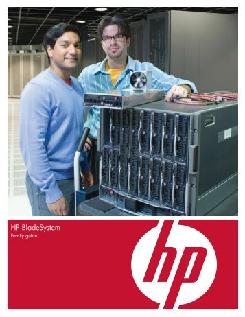 HP BladeSystem Family guide - Netstar Corporation