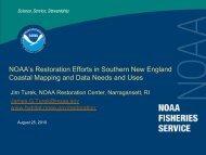 NOAA Restoration efforts in the Coastal Zone - NeSoil