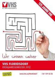 VHS FLORIDSDORF - Verband Wiener Volksbildung