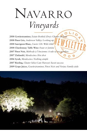 1.66 MB PDF File - Navarro Vineyards