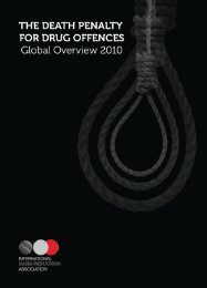The Death Penalty for Drug Offences - Canadian Harm Reduction ...