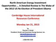 Thomas S. Drolet Final 2 Cambridge House Intl Energy Talk 21 Jan ...
