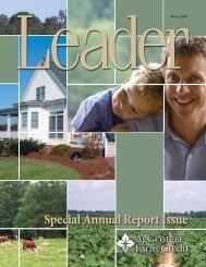 Special Annual Report Issue - AgGeorgia Farm Credit
