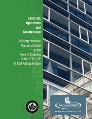 LEED-EB: Operations and Maintenance A ... - Service Point
