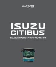 RELIABLE PARTNER FOR PUBLIC TRANSPORTATION - Isuzu