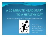Hands on Challenge for a Better, HEALTHIER You!!! - Valley Stream ...