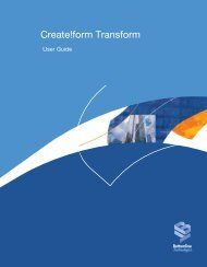 Installing Create!form Transform - Bottomline Technologies