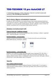 TDS-TECHNIK 15 pro AutoCAD LT