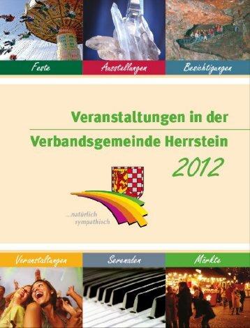 Veranstaltungskalender 2012 - Verbandsgemeinde Herrstein