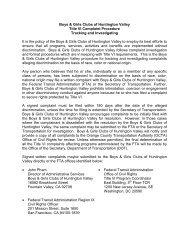 Title VI Complaint Procedure - Boys and Girls Clubs of Huntington ...