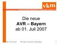 AVR - Bayern - VKM Bayern
