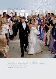 PAR002 Wedding Brochure