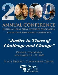 """""""Justice in Times of Challenge and Change"""" - National Legal Aid ..."""