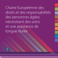 Charte Européenne des droits et des responsabilités des personnes ...