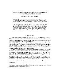 QUANTILE REGRESSION METHODS FOR RECURSIVE ...