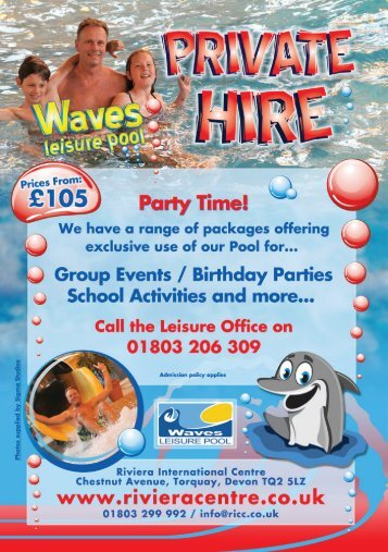 Party Time! - Riviera International Centre
