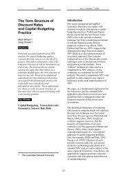 The Term Structure of Discount Rates and Capital Budgeting Practice