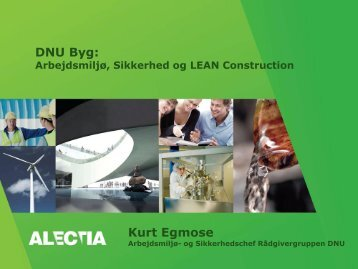 DNU Byg: Kurt Egmose - Lean Construction